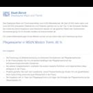 Pflegeexperte/-in MScN Medizin Triemli
