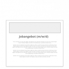 Advanced-Stellenangebot
