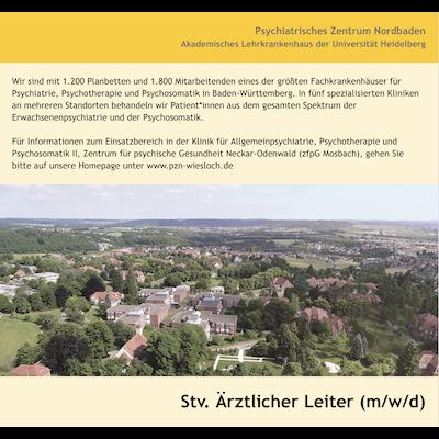Stv. Ärztlicher Leiter (m/w/d)