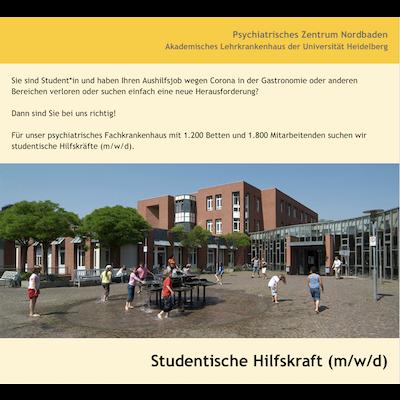 Studentische Hilfskraft (m/w/d)